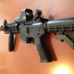 S&W M&P15 one of the guns that would be outlawed by California's gun ban.