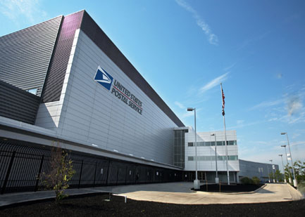 United States Post Office Shipping Center